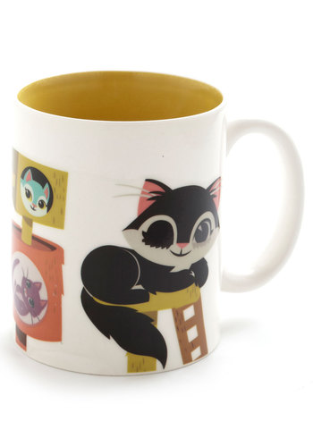 Meow You See Me Mug by Gama-Go - Multi, Cats, Good