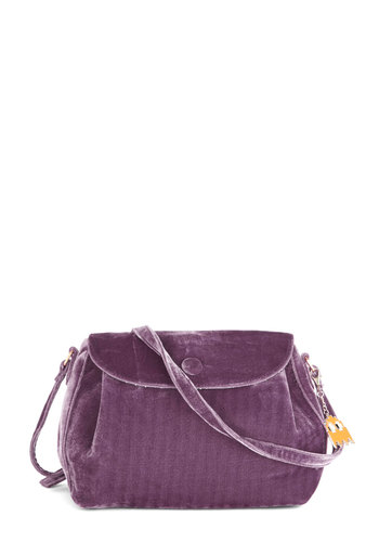Bags to Riches by Kling - Purple, Solid, International Designer, Faux Leather