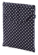 So Fresh and Serene iPad Case in Dots