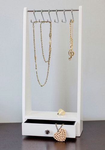 Hang Timeless Jewelry Organizer - White, Minimal, Good, Solid