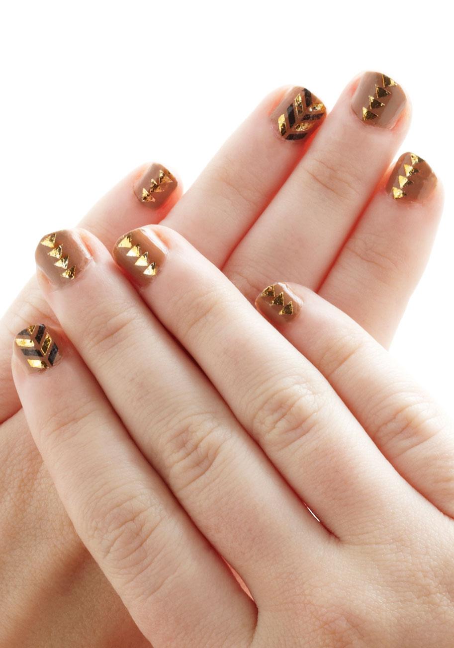 Glitz and Glam Nail Tattoos