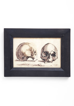Art Skull Confidential Print