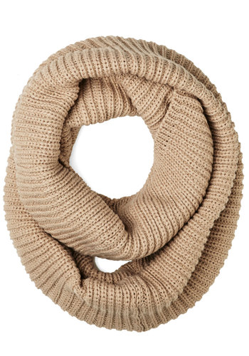Warmth Brigade Scarf - Knit, Tan, Solid, Fall, Winter, Better, Variation, Basic, Knitted