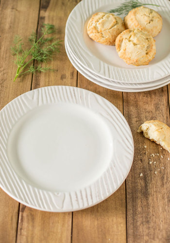 Planks for Hosting Dinner Plate Set by One Hundred 80 Degrees - White, Rustic, Minimal, Better, Solid, Holiday, Wedding