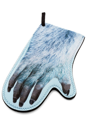 Dinner's Yeti Oven Mitt - Multi, Quirky, Good, Winter, Nifty Nerd, Sci-fi