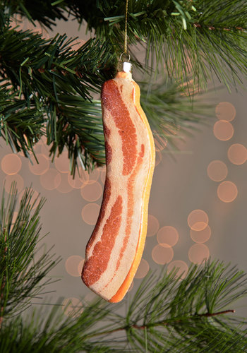 'Tis the Sizzle Ornament by One Hundred 80 Degrees - Multi, Quirky, Good, Holiday, Food