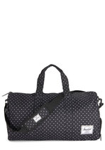 Away With Words Weekender Bag in Dotted Black