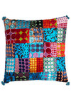 Come Array with Me Pillow by Karma Living - Woven, Multi, Boho, Dorm Decor, Best, Print