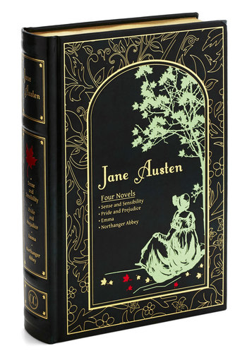 Collected Works of Jane Austen - Good, Black, Multi, Gold, Novelty Print