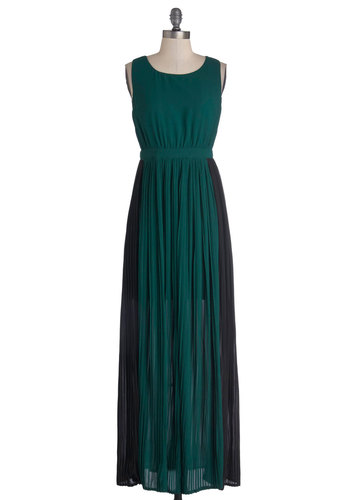 Sea It Through Dress - Green, Black, Backless, Party, Maxi, Sleeveless, Better, Scoop, Long, Woven, Gifts Sale