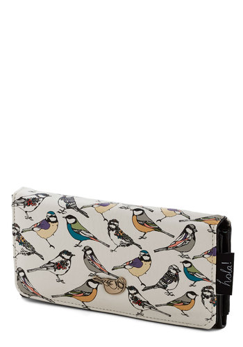 Re-finer Things in Life Wallet by Disaster Designs - Faux Leather, Multi, Print with Animals, International Designer, Top Rated, Critters, Bird, Woodland Creature, 4th of July Sale