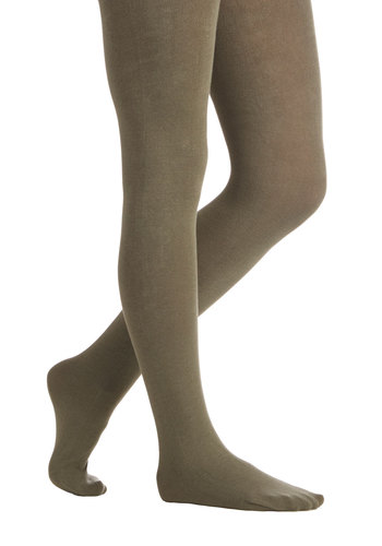Truly Trustworthy Tights in Sage - Knit, Green, Solid, Fall, Winter, Better, Variation, Basic, Folk Art, Fruits