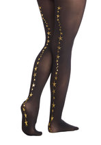 Betsey Johnson Shoot for the Stars Tights