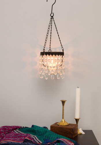 Everything is Illumination Lantern - Boho, French / Victorian, Steampunk, Better, White, Holiday