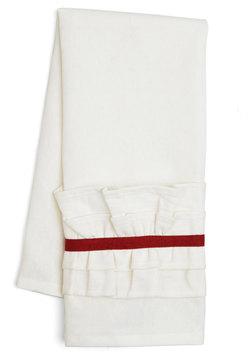 Get Your Frills Tea Towel in Red
