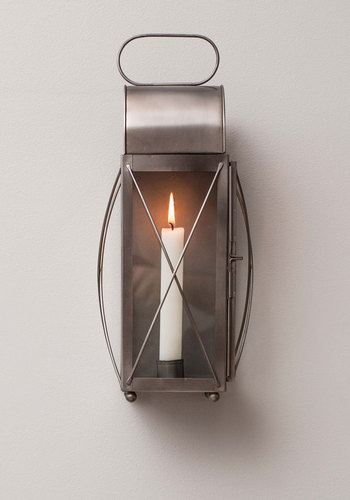 Firelight the Way Lantern - Silver, Nautical, Vintage Inspired, Steampunk, Good, Solid, Holiday