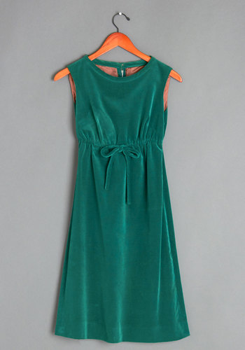 Vintage Here Fir the Holidays Dress