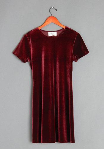 Vintage Mulled Wine Tasting Dress
