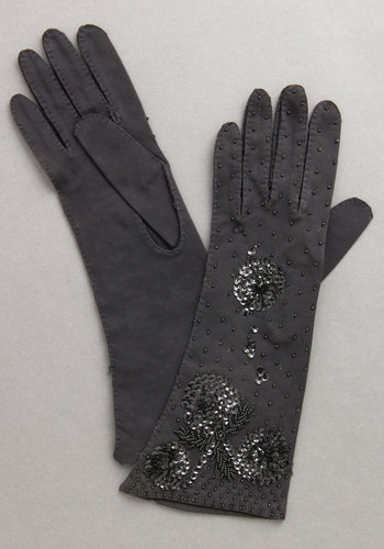 Vintage Glad Tidings Gloves