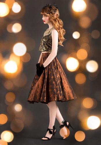 Vintage Hearth-Warming Skirt