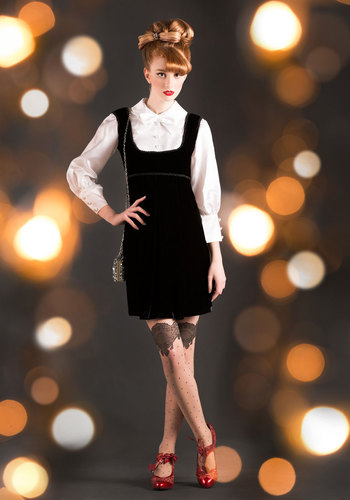 Vintage Holiday Recital Dress