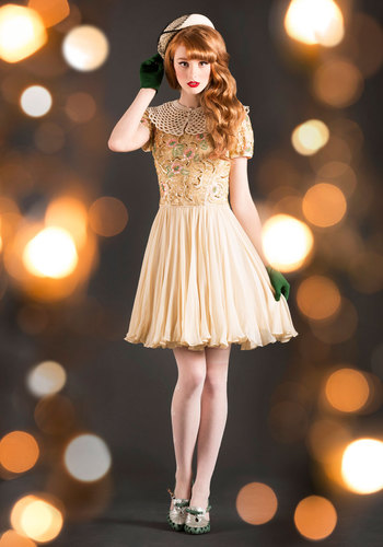 Vintage Winsome Wonderland Dress