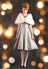 Vintage Caroler in the City Dress
