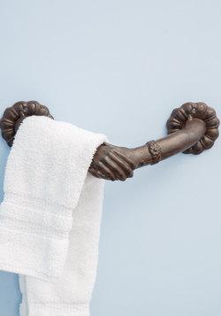 Helping Hands Towel Holder