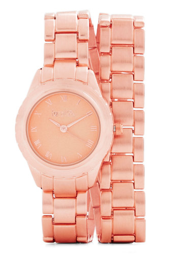 Wrist From a Rose Watch - Solid, Copper, Better, Pink