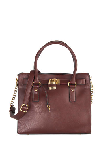 Full Course Load Bag in Oxblood - 14