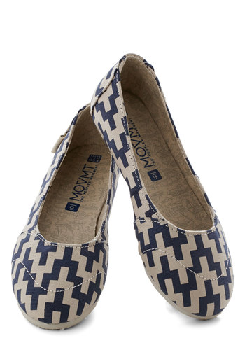 Dare to Design Flat - Print, Flat, Woven, Better, Blue, Tan / Cream, Casual