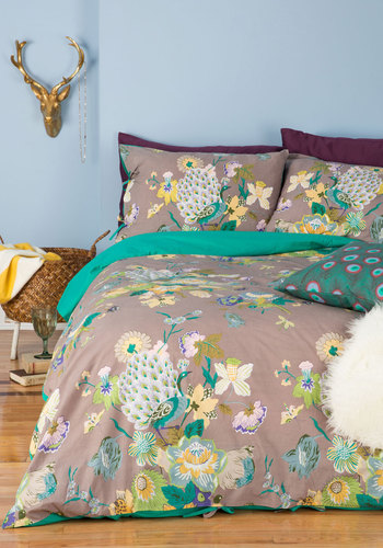 Fowl Play Duvet Cover Set in Full/Queen from ModCloth