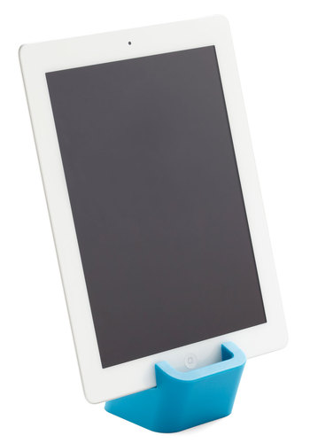 Look Blog, No Hands! Tablet Stand - Blue, Minimal, Good