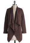 LED the Way Cardigan - Stripes, Better, Knit, Casual, Multi, Long Sleeve, Multi, Long Sleeve