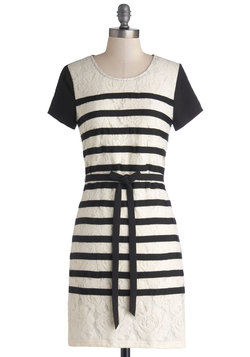 Stripes, Camera, Action! Dress