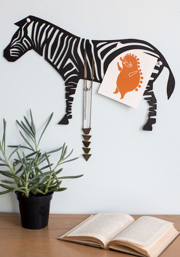 Crazy for Zoo Wall Decor - Black, Safari, Dorm Decor, Good, Critters