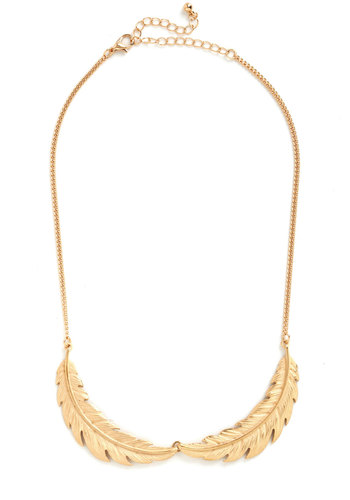 Quill You Be Mine Necklace - Gold, Solid, Good