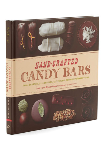 Hand-Crafted Candy Bars by Chronicle Books - Good