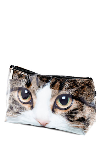 Geography Teacher's Pet Toiletry Bag - Multi, Cats, Good, Print with Animals, Travel