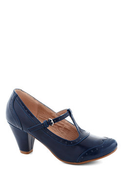 Gallery Opener Heel in Blue