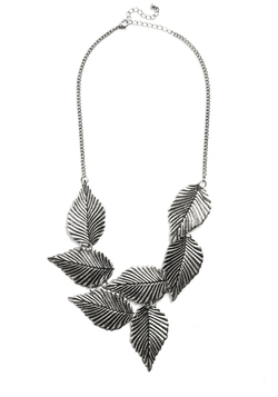 Leafing Town Necklace in Silver
