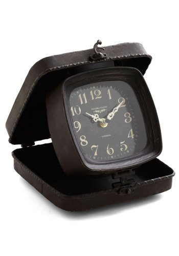 Time Travel Clock - Black, Steampunk, Best