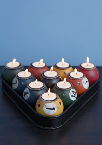 Jason's Cue the Lights Votive Candle Holder - Multi, Rustic, Best