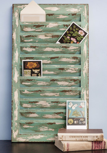 Thinking of View Wall Decor - Rustic, Better, Mint, Tan / Cream
