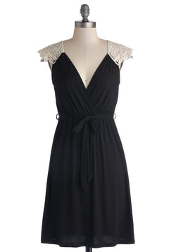 Tango with Me Dress in Black