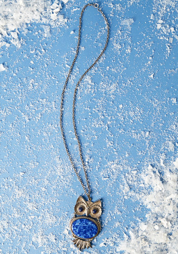 Vintage Who's Hoot Necklace