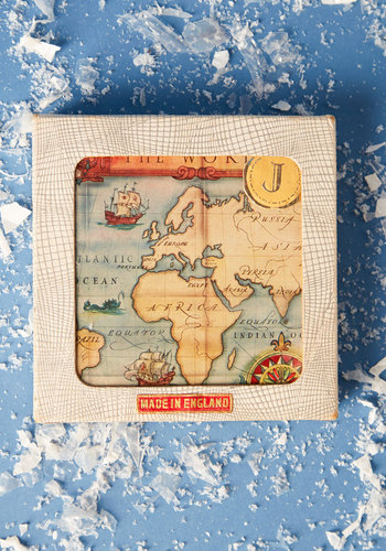 Vintage Five O'Clock Somewhere Coaster Set