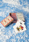 Vintage Wildflower Card Playing Card Set