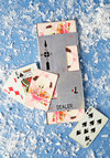 Vintage Ante Pup Playing Card and Dealer Set