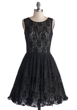 Cherished Celebration Dress in Black